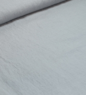 Linen fabric silver gray (stonewash)