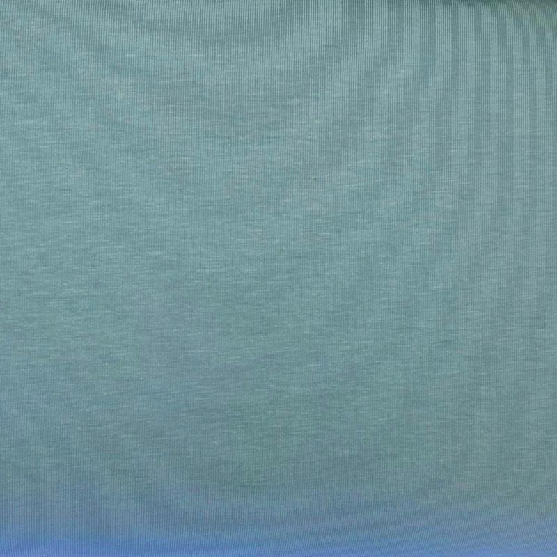 Õhem puuvillatrikotaaž mahe sinine (200g) GOTS
