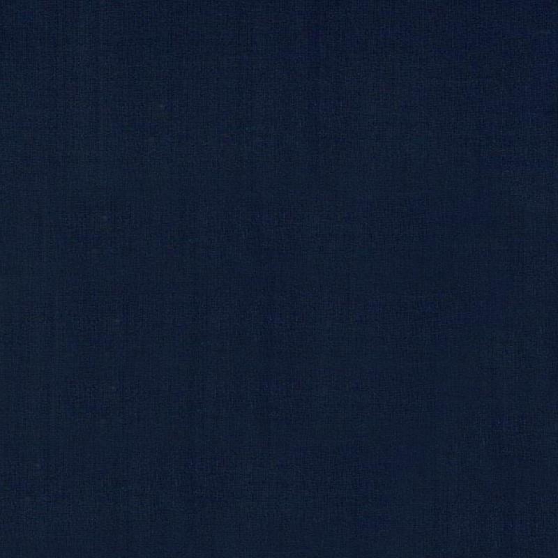 Õhem puuvillatrikotaaž tuhm navy sinine (200g) GOTS