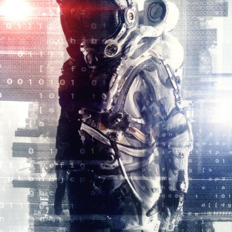Dressikanga paneel astronaut
