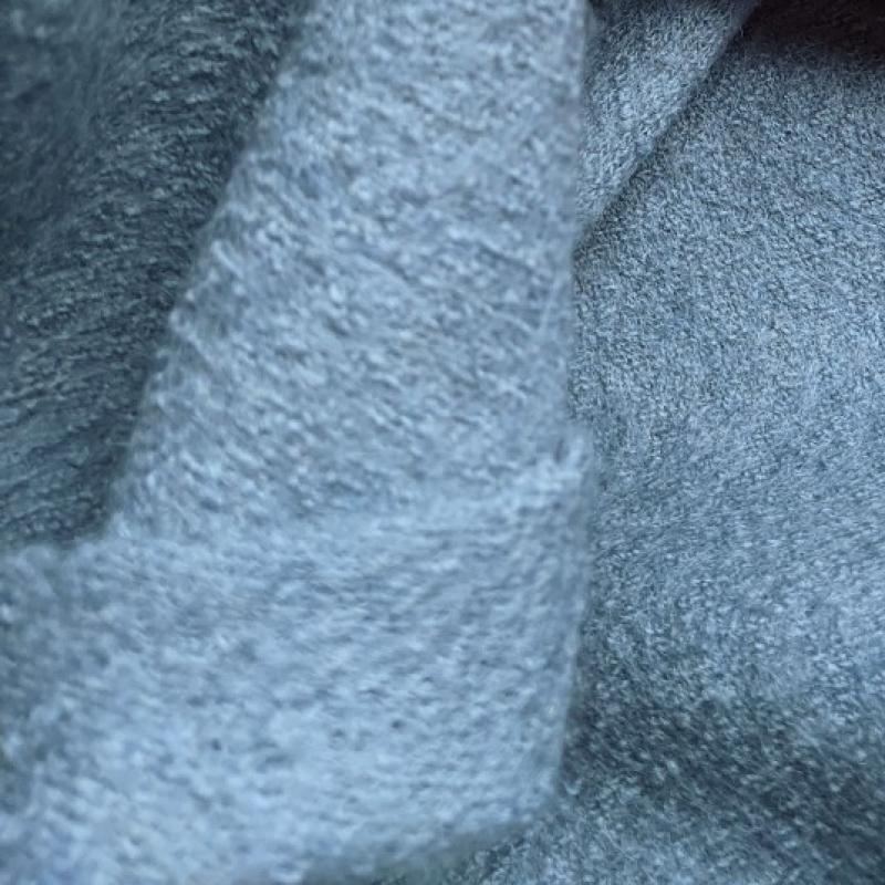 Villane kangas (boiled wool) tuhmsinine