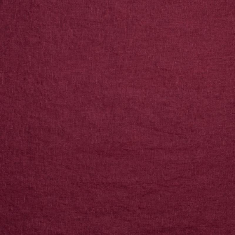 Õhuke linane burgundia (kivipesu)