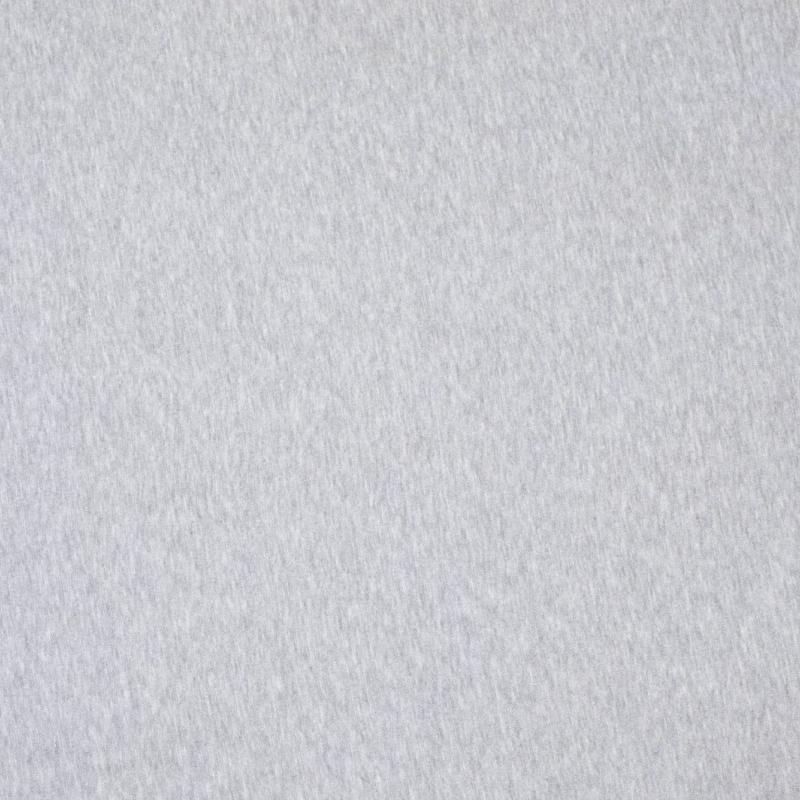 Õhem puuvillatrikotaaž  helehall melange (200g)