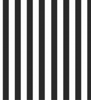 Digiprint cotton jersey black-white stripes BIO