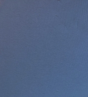 Õhem puuvillatrikotaaž hallikas sinine (200g) GOTS