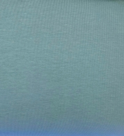 Cotton jersey dusty green (210g) GOTS