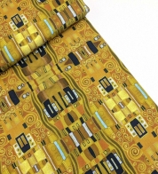 Digiprint cotton jersey Klimt