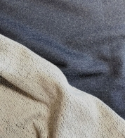 Meriinovilla/puuvilla dressikangas TUMESININE