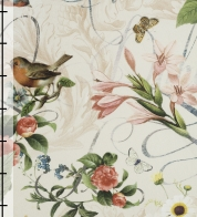 Home decor fabric birds