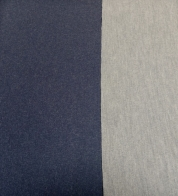 Two sided wool fabric blue/gray (362g)