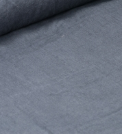 Linen fabric gray (stonewash)