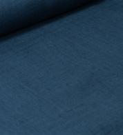 Linen fabric jeans blue (stonewash)