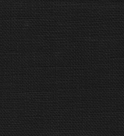 Linen fabric black (stonewash)