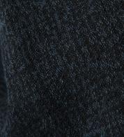 Poollinane kangas tumesinine mustriline (pestud)