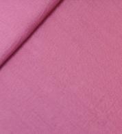 Linen fabric pink (stonewash)