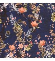 Softshell lilled tumesinisel
