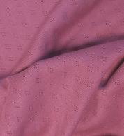 Pitsiline trikotaaž POINTELLE ploomiroosa