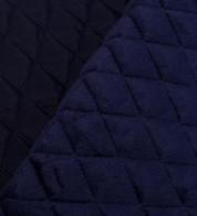 Tepitud jope kangas voodriga sinine