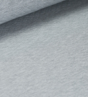 Quilted cotton jersey gray