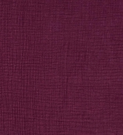 Double gauze burgundy (muslin)