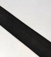 Pehme lai kummipael (40 mm) MUST
