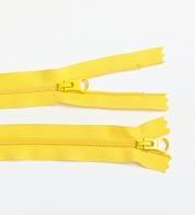 2- way zipper (4mm) light gray