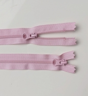 2- way zipper (4mm) light pink