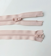 2- way zipper (4mm) old pink