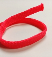 Ribbon neon pink  ( 12 mm) flat