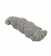 Cotton string melange gray ( 5 mm)