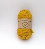 Meriinovillane lõng ooker kollane (chunky)