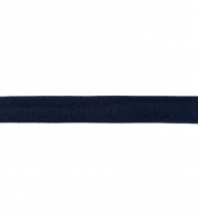 Jersey bias binding dark blue