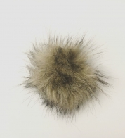 Imitation fur tassel